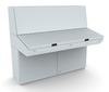 Desk Console Enclosure -- MPC162R5 -- View Larger Image