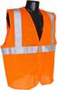 Radians SV2-Mesh Class 2 Orange Reflective Safety Vest -- SV2OM