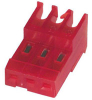 Connector; Feed Thru; 3; 0.100 in.; IDCStandard -- 70042798