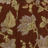 Floral Chenille on Pucker Ground Fabric -- R-Harwood -- View Larger Image