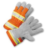 Leather Palm Work Gloves -- RAD-6405 - Image