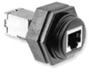 RF Coaxial Panel Mount Connector -- 1546413-3