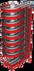 Dual Track Spiral Conveyor -- 1200-200/1800-200 - Image