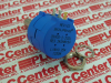 POTENTIOMETER, 2K POTENTIOMETER, 2K RESISTORS ELEMENT TYPE:VARIABLE ROTARY WIREWOUND RESISTANCE, TRACK:2KR SERIES:3590S POWER RATING:2W CASE STYL -- 3590S2202