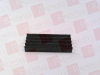 AAVID THERMAL TECHNOLOGIES 508500B00000G ( HEAT SINK 24-PIN DIP GLUE-ON BLK ) -- View Larger Image
