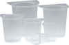Tricorn Plastic Disposable Beakers -- B700-1L
