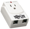 1 AC Outlet, Direct Plug-in Surge Suppressor with Built-in Tel/modem Surge Protection -- TRAVELCUBE