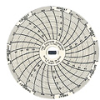 C316 - Chart Paper for Super-Compact Temperature Chart Recorders, 25 to 50C, 7 day -- GO-80011-88