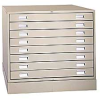4- and 8-Drawer Steel Flat Files -- 4191221 - Image