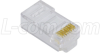 Modular Plug, RJ45(8x8) Category 6, Pkg/50 -- TSP3988C6
