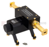 0 to 50 dB WR-42 Waveguide Direct Read Attenuator From 18 GHz to 26.5 GHz, Dial UG-595/U Flange -- SMW42AT5001 - Image