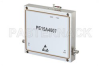 4 Watt P1dB, 8.5 GHz to 11 GHz, High Power GaAs Amplifier, SMA Input, SMA Output, 30 dB Gain, 45 dBm IP3, 5 dB NF -- PE15A4007 -Image