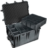 Pelican 1660 Case with Padded Dividers- Black | SPECIAL PRICE IN CART -- PEL-1660-024-110 -Image