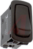 Switch, Rocker, L Series, Non-Lighted, SPST, (On)-None-Off, 22.1mm x 44.1 mm Mou -- 70131612 - Image