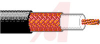 COAXIAL CABLE, RG-59/U, 75 OHM IMP., 22AWG (7X30), ANALOG VIDEO CABLE BLACK -- 70004345 - Image