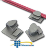 Panduit® Adhesive Backed Latching Wire Clip -- LWC19-A-C