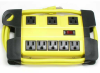 Heavy Duty Metal Case Power Strip, 5 + 3 Power Supply -- 2150-SF-18 -- View Larger Image