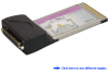 Dual RS-232 Serial Port CardBus PC Card -- CBS221