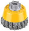 Dewalt DW4910 Wire Cup Brush Knotted 3