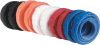 "100-Pack Rainbow 1/2""x8"" Hook and Loop Cable Wrap -- FT9280 -- View Larger Image"
