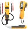Thermometer, Electrical Tester and Voltage Detector Combo Kit -- T5-600/62MAX+/1AC