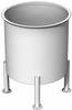 Stainless Steel Tank, 60 Gals, Standard Finish, Dish Bottom -- SSTSD0060
