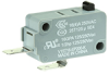 MICRO SWITCH V15 Series Standard Basic Switch, 16 A, pin plunger, 4,80 mm x 0,50 mm quick connect terminals, SPST-NO, 200 gf [1,96 N] -- V15T16-EP200-K -Image
