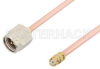 SMA Male to SMP Female Cable 60 Inch Length Using RG405 Coax -- PE36166-60 -Image