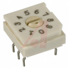 Switch, DIP; 0.390 in. L x 0.350 in. W x 0.225 in. H; 10; Rotary; Thru-Hole -- 70216710
