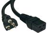 Heavy Duty Power Cord, 20A, 12AWG (IEC-320-C19 to NEMA 5-20P) 10-ft. -- P049-010