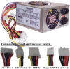 ATX 350W Power Supply UL Listed -- 3501-SF-02