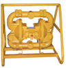 MSA2B DP5A - Special-Duty Air-Operated Mining/Construction Double-Diaphragm Pump, 2