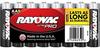 Alkaline Shrink-Wrapped AA-8 Pack (12 packs/case) -- AL-AA