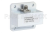WR-112 Square Type Flange to SMA Female Waveguide to Coax Adapter Operating from 7.05 GHz to 10 GHz -- PE9884 - Image