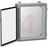 Enclosure, Industrial; Steel; 24 in.; 16 in.; 24 in.; Wall Mount; Gray -- 70164061