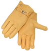 Premium Grain Elkskin Driving Gloves - Pull Strap -- REV-17A-B
