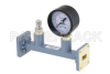 WR-51 Waveguide Pressurizing Section 4.25 Inch Length, Square Cover Flange from 15 GHz to 22 GHz -- PEWSP1004 -Image