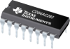 CD54AC283 4-Bit Binary Full Adder with Fast Carry -- CD54AC283F3A - Image