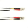10m (32.8ft) LCLC BK OM1 MM Fiber Patch Cable INDR Zip OFNR -- FOCMR62-010M-LCLC-BK - Image