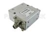 Isolator with 18 dB Isolation from 1.7 GHz to 2.4 GHz, 10 Watts and SMA Female -- PE83IR004 -Image