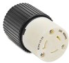 20A Electrical Connector: locking, 600VAC, NEMA L9-20 -- 70920NC