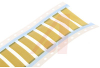 MIL GRADE HEAT SHRINKABLE WIRE ID SLEEVES- YELLOW -- 70062474