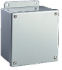 10 x 10 x 4 inch (HxWxD) NEMA 12 JIC Enclosure, screw cover, wall... -- B101004SC - Image