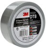 3M DT8 Silver Duct Tape - 48 mm Width x 54.8 m Length - 8 mil Thick - 98118 -- 076308-98118