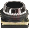 Pushbutton, Non-Illuminated, Flush Operator, Black, Momentary, 30mm, 10A, 500V -- 70156627