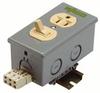 WAGO - 51018377 - CONNECTOR, AC POWER, SOCKET, 15A, 120V -- 195372