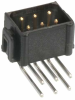 10+10 Pos. Male DIL Horizontal Throughboard Conn. No Latches -- M80-8412042 - Image