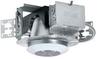 One Lamp Horizontal Fluorescent Lensed Downlight -- 6HFWL1 Shower Lens