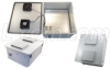 18x16x8 Inch 12 VDC Weatherproof Enclosure with Cooling Fans -- NB181608-50F -Image