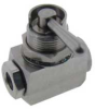 1/4-28 Threaded Ports, On/Off Ball Valve -- MBV-1414-3 -Image